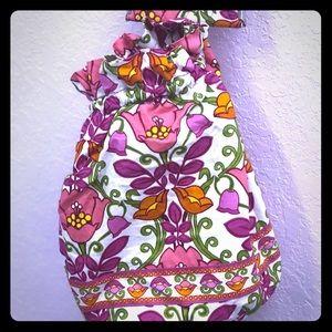 Vera Bradley satchel with coin purse